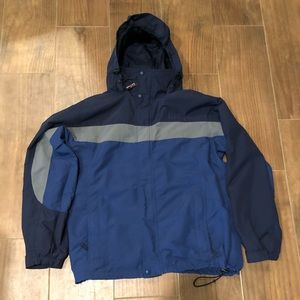 LIKE NEW MENS LL BEAN RAIN JACKET